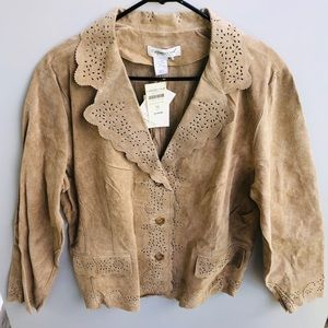 COLDWATER CREEK 100% Leather Jacket